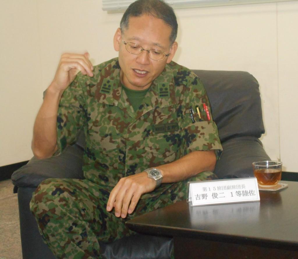 自衛隊15旅団1